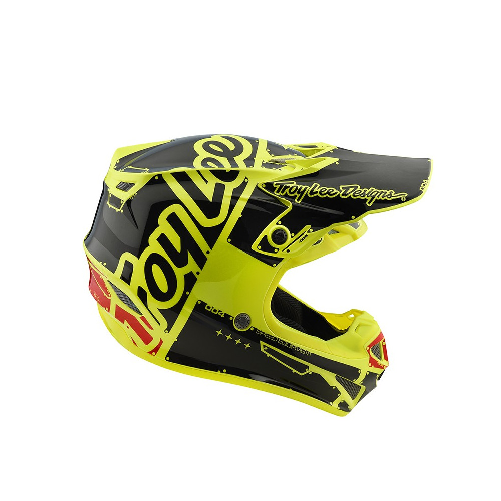 SE4 Polyacrylite Factory yellow helmets youth