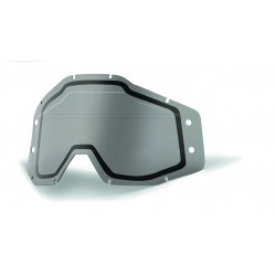 Accuri Forecast dual lens Sonic bumps 100% - w/mud visor - Smoke