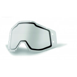 Accuri Forecast dual lens Sonic bumps 100% - w/mud visor - Clear