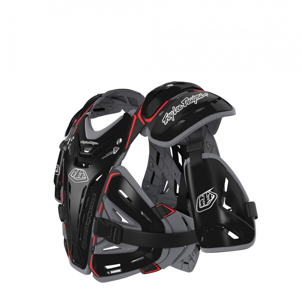 BG5955 Chest protector youth Black