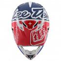 SE4 Polyacrylite factory white blue youth helmets