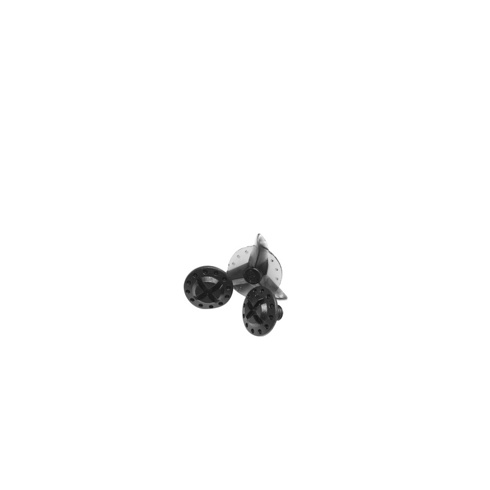 Vis noire de fixation visières SE4 (x2pcs)