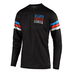 GP Air jersey Saddleback black/cyan