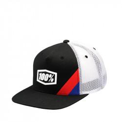 Cornerstone trucker youth hat black