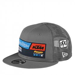 KTM team snapback hat gray