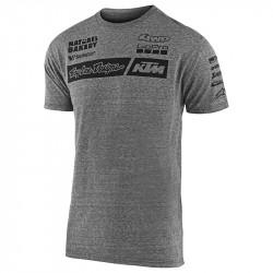 KTM team tee vintage grey
