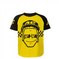 Dottorone t-shirt enfant jaune/noir