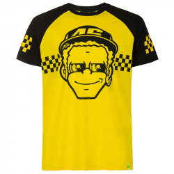Dottorone t-shirt jaune/noir