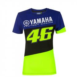 Racing t-shirt femme bleu Yamaha