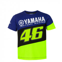 Racing t-shirt enfant bleu Yamaha