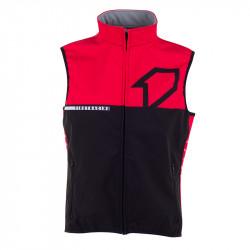Bodywarmer - noir/rouge
