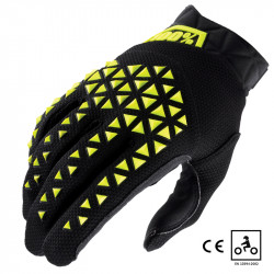Airmatic gants certifié CE noir/fluo
