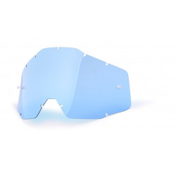 RACECRAFT/ACCURI Replacement Lens 100% - Blue Anti-Fog
