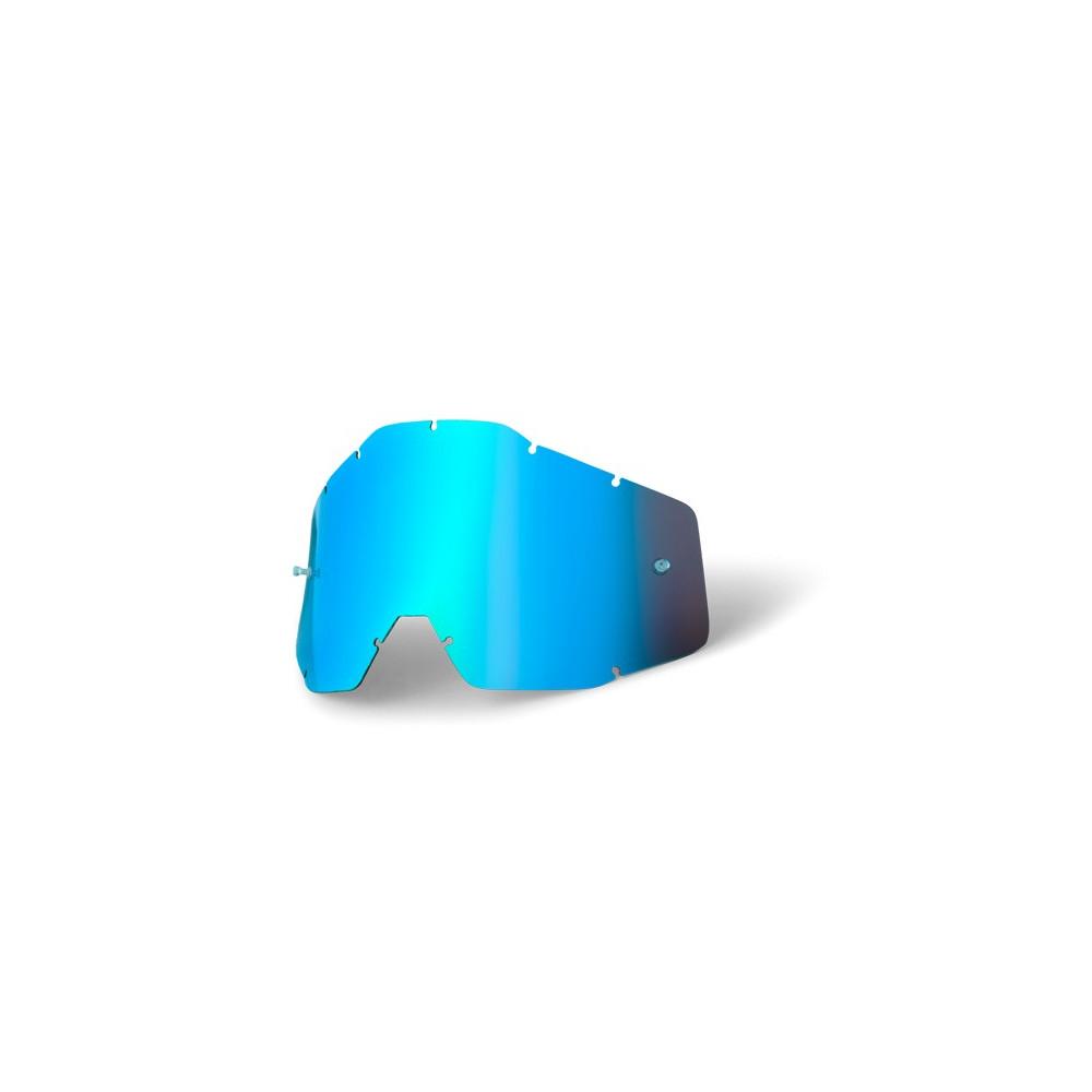 1 écran bleu miroir + 1 écran bleu.