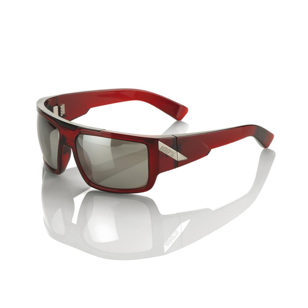Heikki black cherry/silver - Silver mirror lens