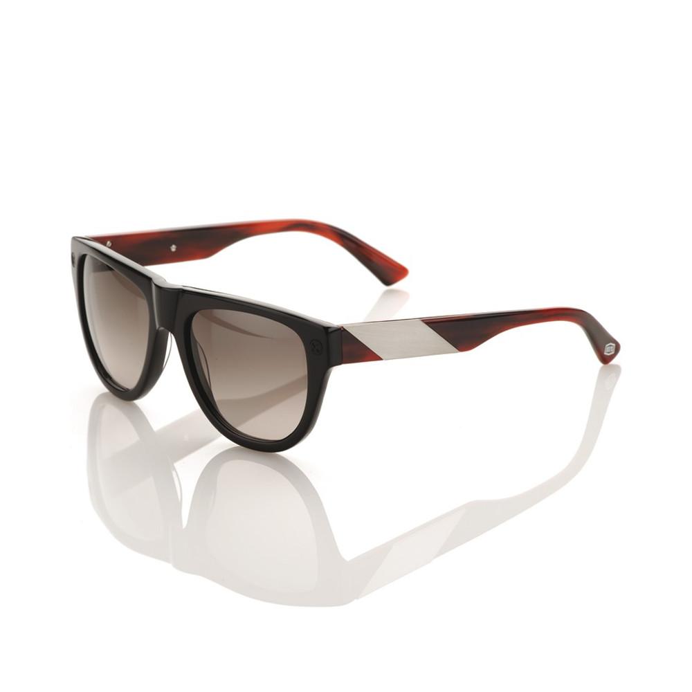 Higgins glosslack/tortoise/brushed aluminium - Grey lens
