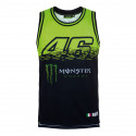 Tank top unisex Monster fluo yellow