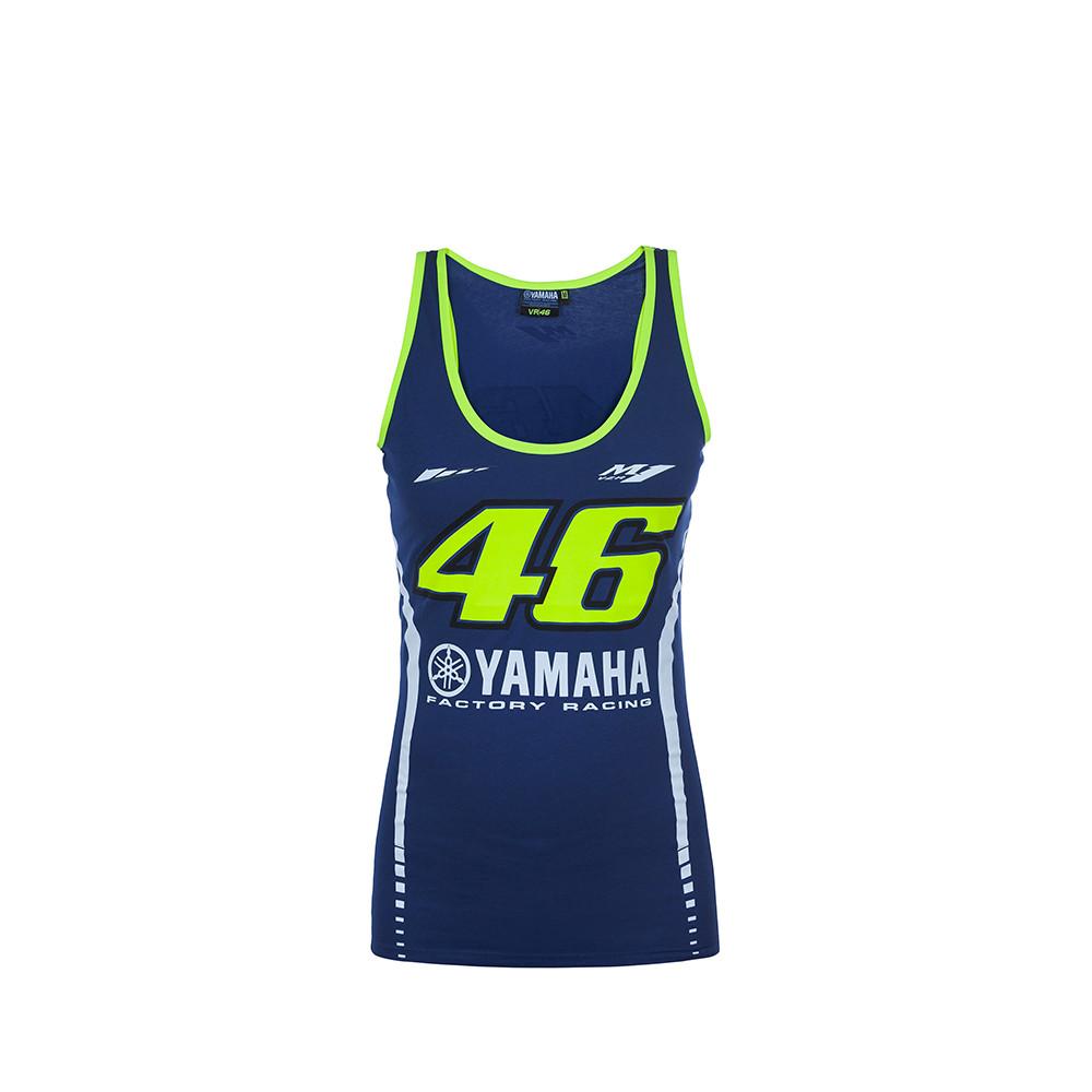 Tank top woman Yamaha racing blue