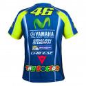 Tshirt Yamaha replica blue