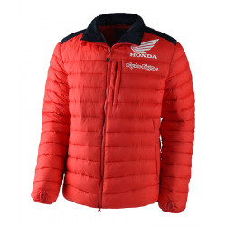 Honda Puff jacket doudonne red