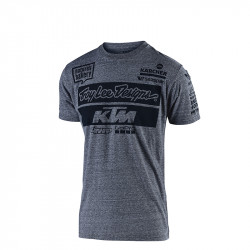 KTM Team youth tee charcoal '19