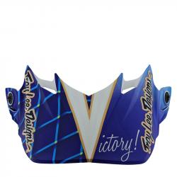 Visière SE4 - Malcom Smith blue