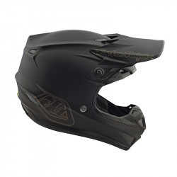 SE4 Polyacrylite Midnight black youth helmets