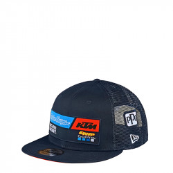 KTM team youth snapback hat navy