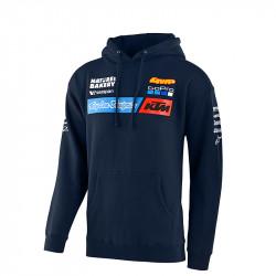 KTM team youth pullover hoodie navy