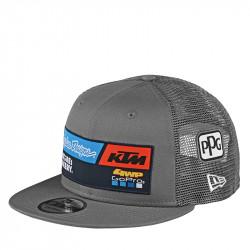 KTM team snapback hat gray