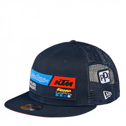 KTM team snapback hat navy