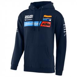 KTM team pullover hoodie navy