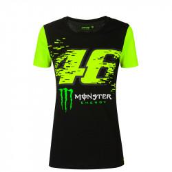 Monza Monster t-shirt femme noir