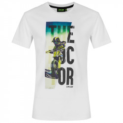 The doctor t-shirt blanc