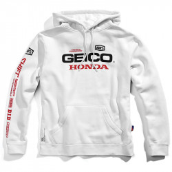 Salvo sweat capuche Geico/Honda/100%