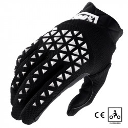Airmatic gants certifié CE noir/blanc