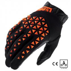 Airmatic gants certifié CE noir/orange