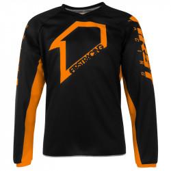 Corpo maillot orange/noir