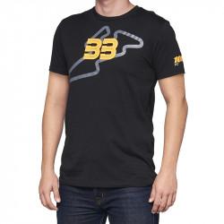 BB33 Track t-shirt 100% noir