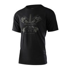 Pistonbone 40th tshirt noir...