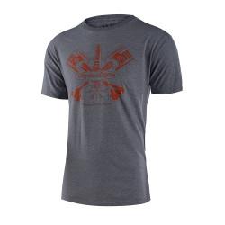 Pistonbone 40th tshirt gris...