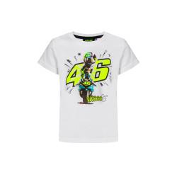 21 t-shirt enfant blanc VRl46