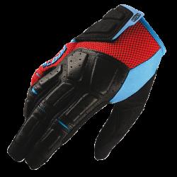 SIMI 100% MTB Glove Red/Cyan - Size SM