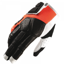 SIMI 100% MTB Glove Orange - Size SM