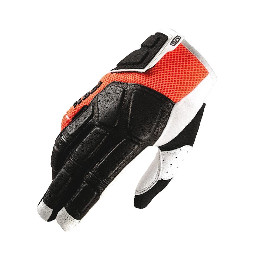 SIMI 100% MTB Glove Orange - Size SM