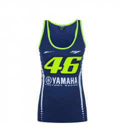 Tank top woman Yamaha racing blue
